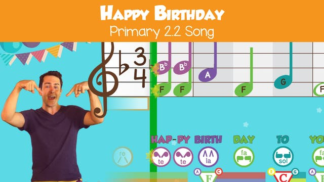 Happy Birthday (Song -- Primary 2.2.4)