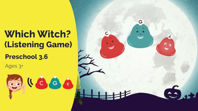 Which Witch Listening Game (Preschool 3.6)