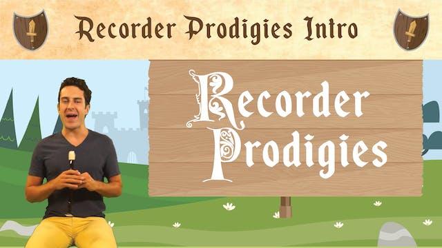 Recorder Prodigies Introduction (Reco...
