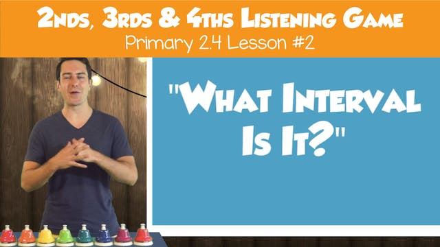 """""""What Interval Is It?"""" w/ 2nds, 3rds,..."""