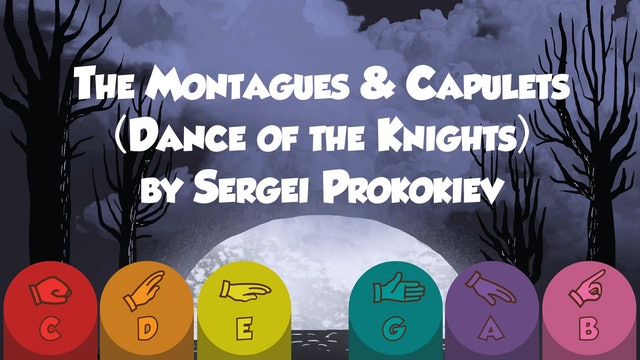 Prokokiev Dance of the Knights - Karaoke - Classical Prodigies