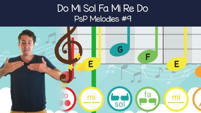 Do Mi Sol Fa Mi Re Do (PsP Melodies #9)