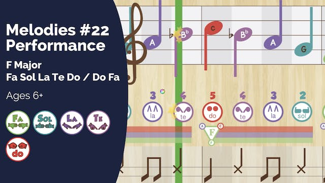 F Major Performance Track (PsP Melodi...
