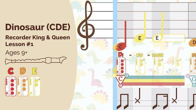 Dino CDE - Recorder - King_Queen