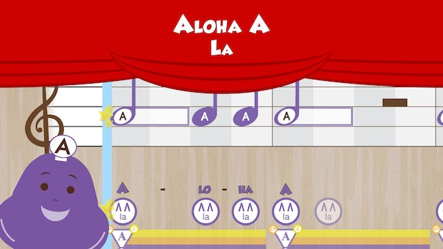 Aloha A -- One Note Study -- (Perform...