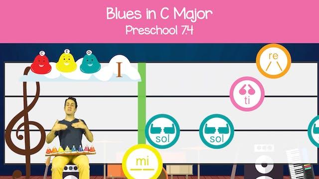 Blues in C Major (Preschool 7.4)