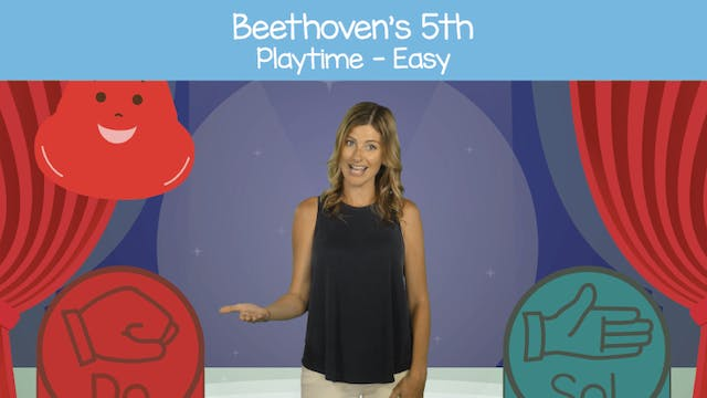 Beethoven's 5th (Playtime -- Easy)