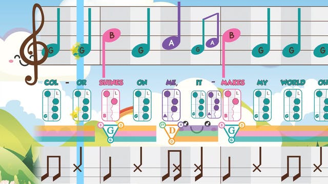 GAB- Rainbow - Recorder Prodigies
