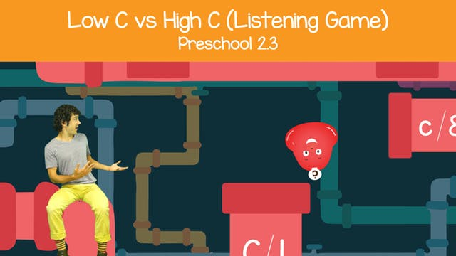 Listening C vs c (Preschool 2.3)
