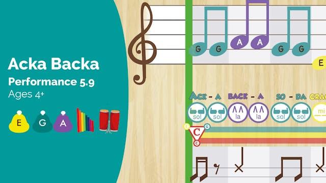 Acka Backa -- Mi Sol La -- (Performan...