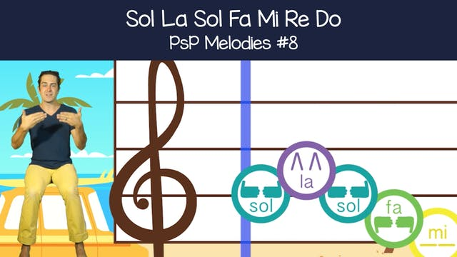 Sol La Sol Fa Mi Re Do (PsP Melodies #8)