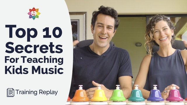 10 Secrets for Teaching Kids Music (HD - 2020 Updates)