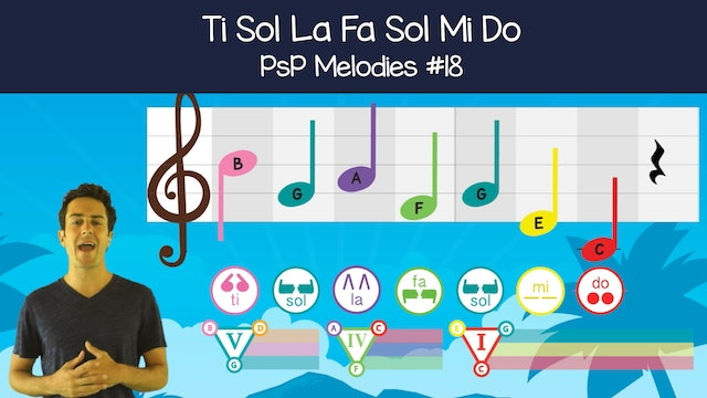 Ti Sol La Fa Sol Mi Do (PsP Melodies #18)