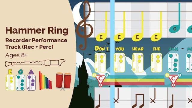 Mi Sol La - Hammer Ring - Recorder Pr...