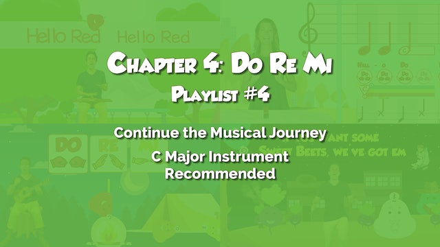 Chapter 4: Do Re Mi