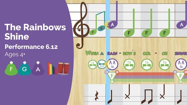Rainbow - Fa Sol La - Performance Prodigies