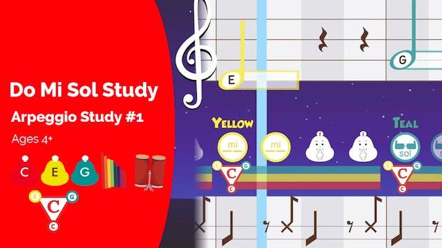 Do Mi Sol Study 1