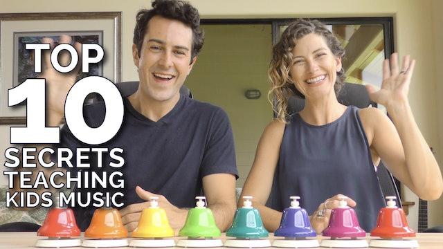 10 Secrets to Teaching Kids Music - Free Training Promo Video