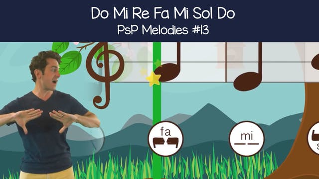 Do Mi Re Fa Mi Sol Do (PsP Melodies #13)