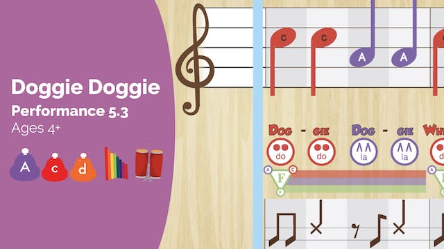 Doggie Doggie -- La Do Re -- (Perform...