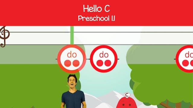 Hello C (Preschool 1.1)