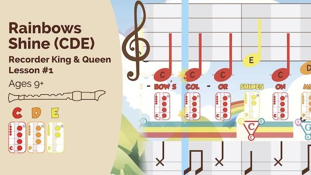 Rainbow CDE - Recorder - King_Queen