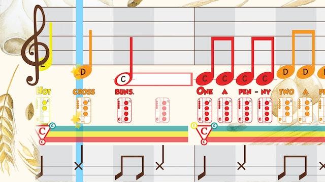 Hot Cross Buns CDE - Recorder - King_Queen