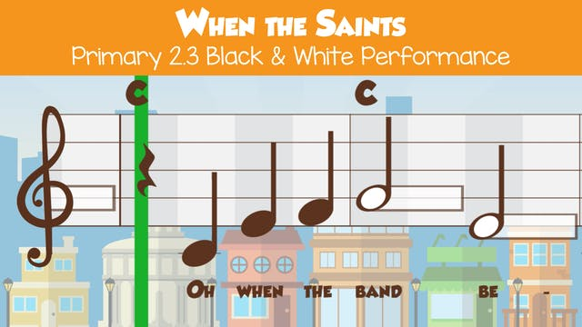When the Saints (Performance B&W -- P...