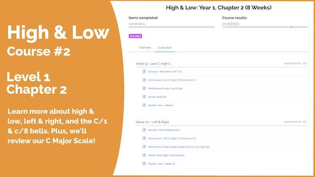 Teach Mode Course 2: High C, Low C (Playlist #2)