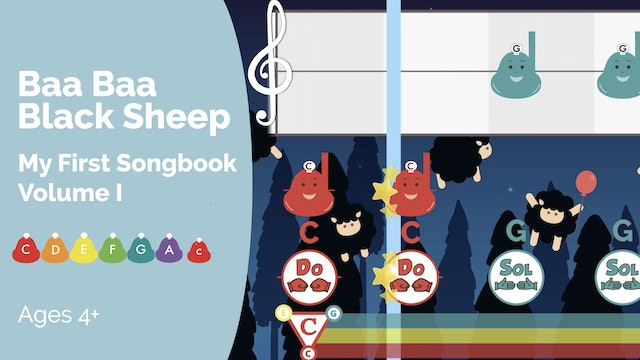 Baa Baa - Performance - My First Songbook