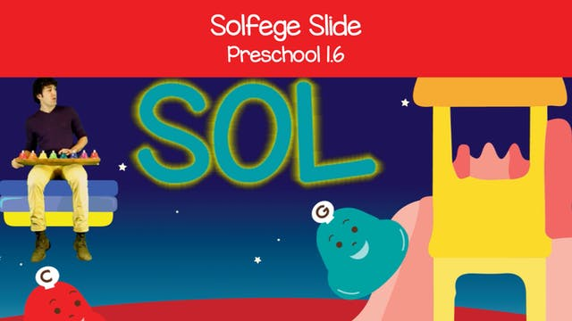 Solfege Slide in C Major (Preschool 1.6)