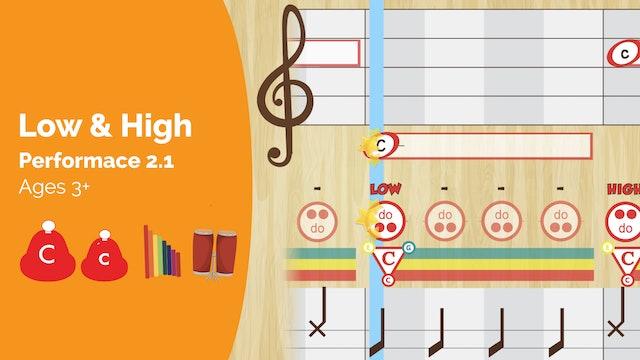 Low C and High C (Preschool 2.1)