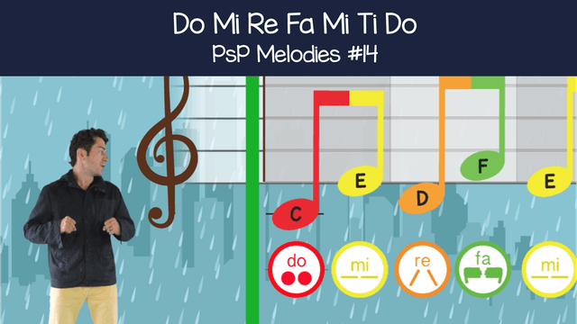 Do Mi Re Fa Mi Ti Do (PsP Melodies #14)