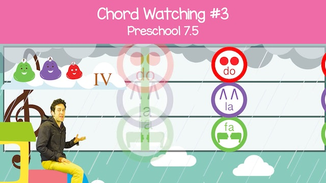 Chord Watching III - C and F Major (Preschool 7.5)