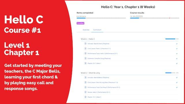 Teach Mode Course 1: Hello C (Start Here)