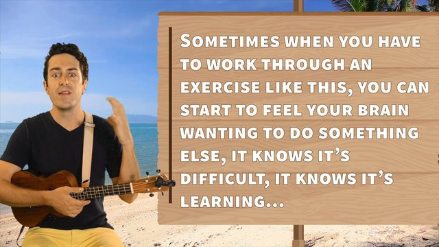 Ukulele Prodigies - Lesson #7 - Strumming Speed Exercise
