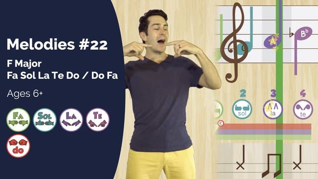 F Major 5 Note Exercise (PsP Melodies...