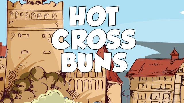 Hot Cross Buns CDE B&W (King & Queen ...