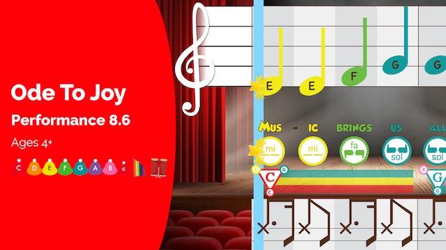 Ode to Joy - C Major Songs - Performance Prodigies