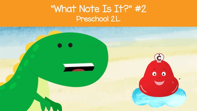 What Note Is It - Low C and High C (Preschool 2.L)