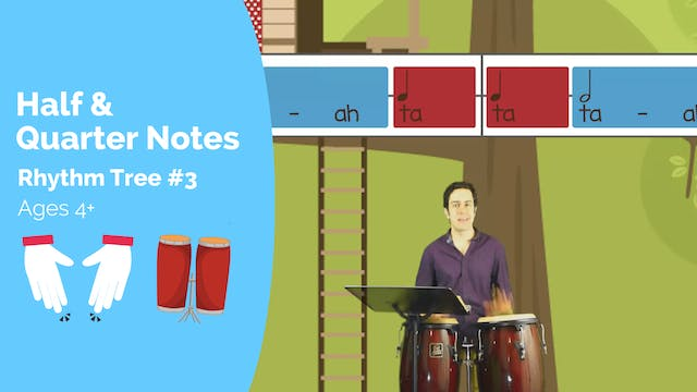 Half and Quarter Notes (Kodaly Lesson...