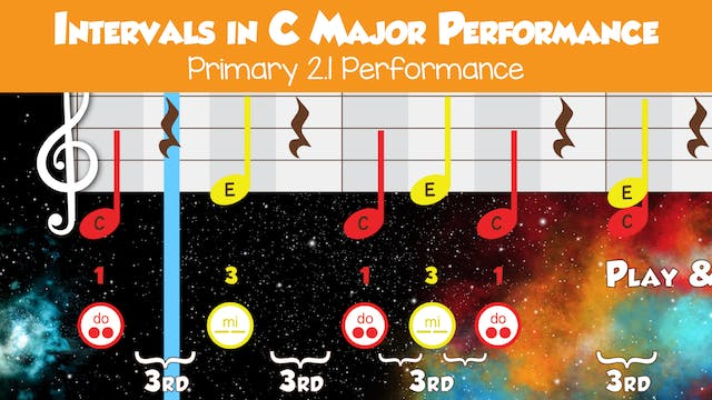 Intervals in C Major (Performance -- ...