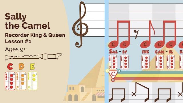 Sally the Camel CDE - Recorder - King_Queen