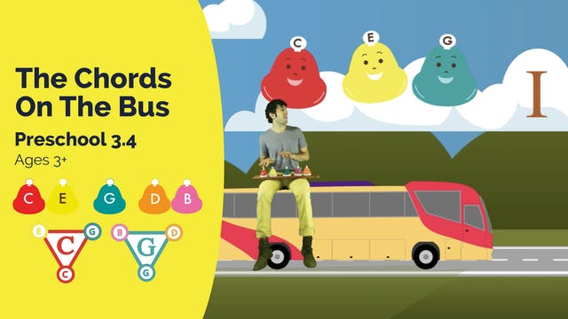 The Chords On the Bus (Preschool 3.4)