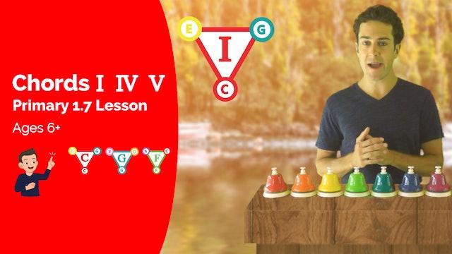 I, IV, V Chord Review (Lesson -- Primary 1.7.1)