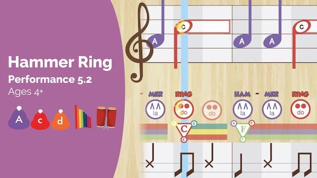 Hammer Ring -- La Do Re -- (Performan...