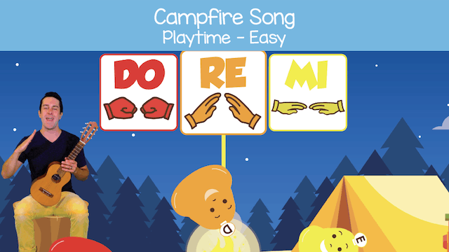 Campfire Song (Playtime -- Easy)