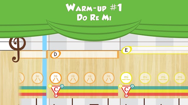 Warm Up #1 -- Do Re Mi -- (Performanc...