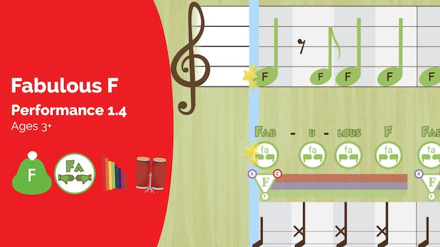 Fabulous F -- One Note Study -- (Perf...