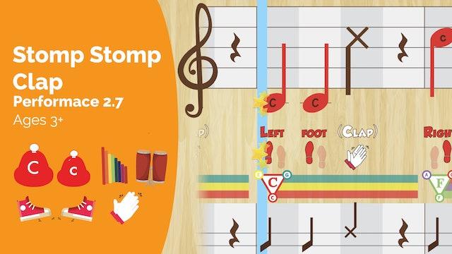 Stomp Stomp Clap - C1 & c8 - Performance Prodigies